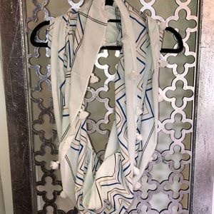 JCREW INFINITY SCARF 💯 cotton with fringe